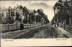 Ak Majorenhof Jūrmala Riga Strand Lettland, Johmen Straße