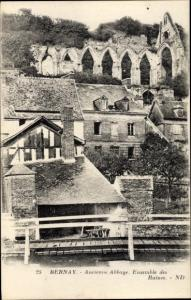 Ak Bernay-en-Brie Seine et Marne, Ancienne Abbaye