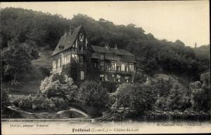 Ak Fréteval Loir et Cher, Chalet du Loir