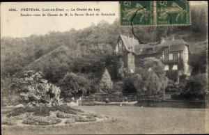 Ak Fréteval Loir et Cher, Le Chalet du Lac