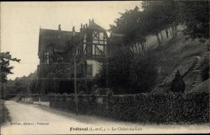 Ak Fréteval Loir et Cher, Le Chalet du Loir