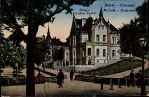 Ak Brassó Brașov Kronstadt Rumänien, Postwiesen, Livadea Postei