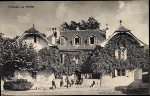 Ak Yverdon-les-Bains Kanton Waadt, La Villete