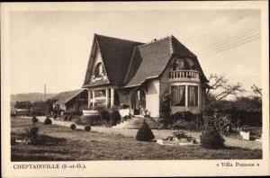 Ak Cheptainville Essonne, Villa Pomone