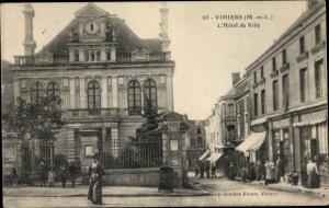 Ak La Salle de Vihiers Maine et Loire, L'Hotel de Ville