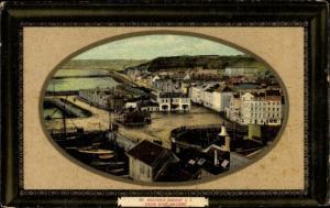 Präge Ak St. Heliers Jersey Kanalinseln, View from Fort Regent