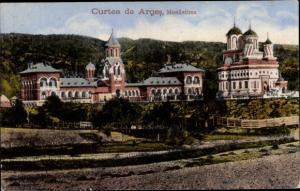 Ak Curtea de Argeș Rumänien, Monastirea, Kloster