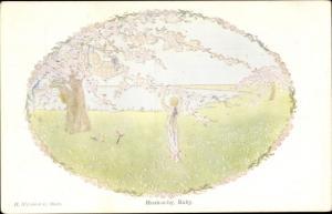 Künstler Ak Willebeek Le Mair, H., Hush-a-by, Baby, More old Nursery Rhymes