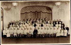 Foto Ak Köche in Uniformen, Versammlung 1932, Gruppenbild