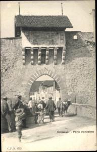 Ak Estavayer Kanton Freiburg, Porte d'enceinte