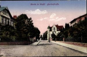 Ak Bünde in Westfalen, Gartenstraße