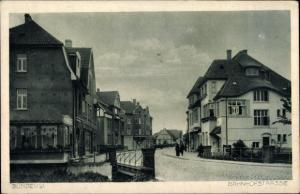 Ak Bünde in Westfalen, Bahnhofstraße