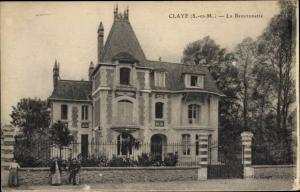Ak Claye Souilly Seine et Marne, La Beuvronette