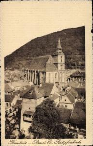 Ak Brașov Brassó Kronstadt Rumänien, Evang. Stadtpfarrkirche
