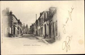 Ak Bleneau Yonne, Rue d'Orleans
