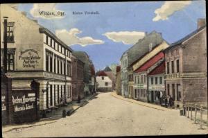 Ak Snamensk Wehlau Ostpreußen, Kleine Vorstadt, Restauration, Geschäfte