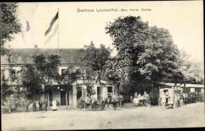 Ak Pechau Magdeburg in Sachsen Anhalt, Gasthof Louisenthal, Herm. Dichte