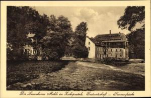 Ak Mittweida in Sachsen, Blick auf die Lauenhainer Mühle