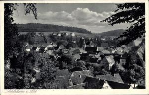 Ak Adelsheim im Neckar Odenwald Kreis, Teilansicht von der Ortschaft über den Häuserdächern