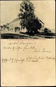 Ak Nebra an der Unstrut im Burgenlandkreis, Landwirtschaftliche Haushaltungsschule