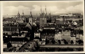 Ak Würzburg am Main Unterfranken, Stadtansicht