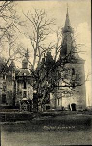 Ak Doorwerth Gelderland, Kasteel