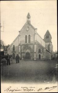 Ak Bleneau Yonne, Eglise