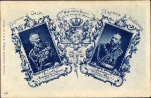 Ak Bayerns Stolz, Bayerns Hoffnung, Prinzregent Luitpold von Bayern, König Ludwig III. von Bayern