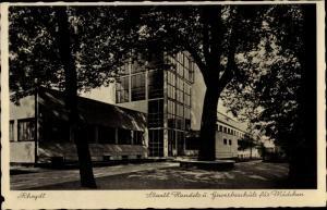 Ak Rheydt Mönchengladbach im Ruhrgebiet, Staatl. Handels- und Gewerbeschule für Mädchen