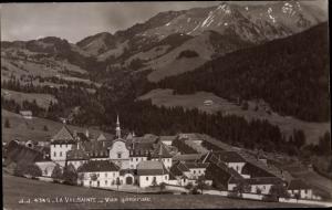 Ak Val de Charmey Kanton Freiburg, La Valsainte, Vue generale