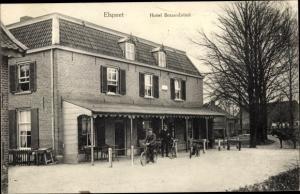 Ak Elspeet Gelderland, Hotel Bossenbroek