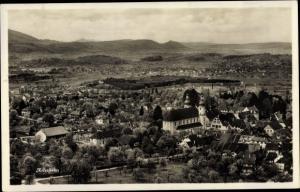 Ak Arlesheim Kt Basel Land, Totalansicht der Ortschaft mit Umgebung