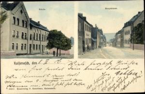 Ak Kaisersesch im Landkreis Cochem Zell Rheinland Pfalz, Schule, Hauptstraße