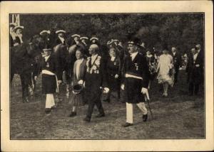 Ak Angermund Düsseldorf Nordrhein Westfalen, Schützen und Volksfest der Sebastianusbrüder 1928
