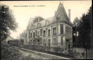 Ak Chevry Cossigny Seine et Marne, La Chateau