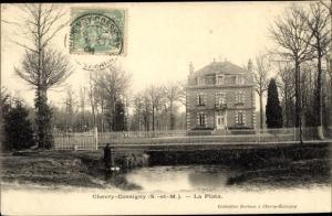 Ak Chevry Cossigny Seine et Marne, La Plata