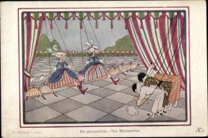 Künstler Ak Willebeek Le Mair, H., The Marionettes, Marionetten