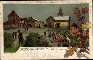 Litho Niederreifenberg Schmitten im Taunus, Großer Feldberg