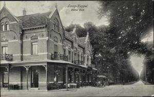 Ak Laag Keppel Gelderland, Hotel Kets, Automobil