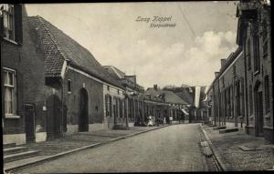 Ak Laag Keppel Gelderland, Dorpsstraat