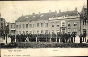 Ak Kruisberg Gelderland, Gesticht, Niederländische Soldaten