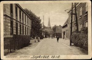Ak Dinxperlo Gelderland, Dorpstraat, Kerk