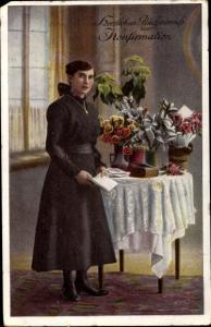 Ak Glückwunsch Konfirmation, Mädchen, Blumen, RKL 3110 6
