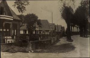 Ak Kornhorn Drenthe Niederlande, Straßenpartie