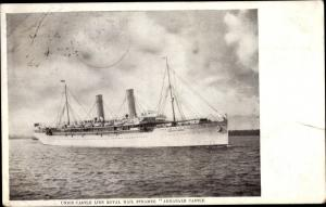Ak Steamer Armadale Castle, Dampfschiff, Union Castle Line