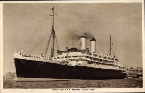 Ak Steamer RMS Orontes, Dampfschiff, Orient Line