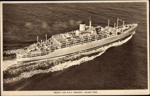 Ak Steamer RMS Oronsay, Dampfschiff, Orient Line