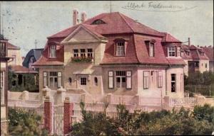 Ak Gautzsch Markkleeberg in Sachsen, Hausansicht, Albert Friedemann