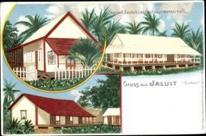Litho Jaluit Papua Neuguinea, Kaiserlich deutsche Landeshauptmannschaft
