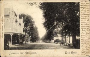 Ak Laag Keppel Gelderland, Straatweg